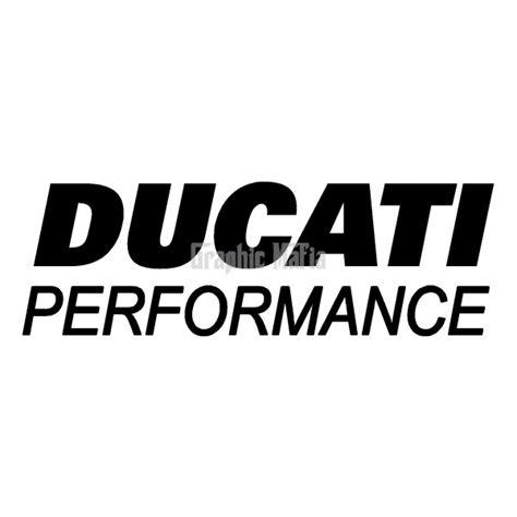 Ducati Sticker Logo ducati performance logo decal 2