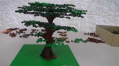 tutorial lego tree show tell lego tree building tutorial youtube