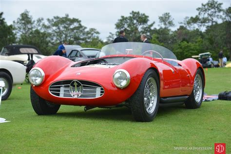 1954 maserati a6gcs pinehurst concours d elegance 2017 picture gallery