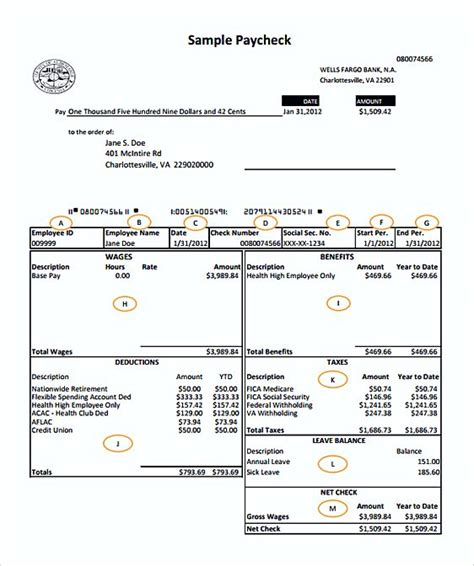 payroll receipt template word pages invoice template