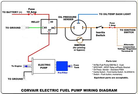electric fuel wiring diagram