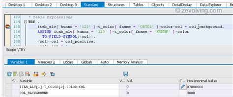 tutorialspoint abap how to write read statement in sap abap
