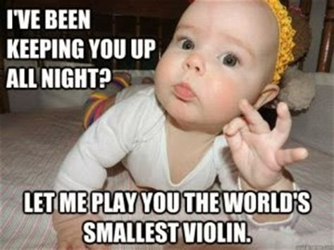 Baby Sleep Meme - the sustainable mama blog why you won t hear me complain