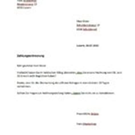 Briefgestaltung Schweiz Kurzbrief Vorlage Muster Und Vorlagen Kostenlos