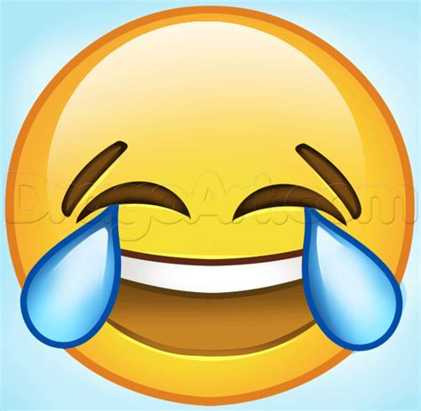 emoji drawings how to draw laughing emoji step by step symbols pop