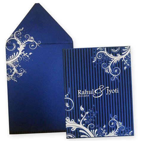indian wedding cards amazing indian wedding card with raised silver color