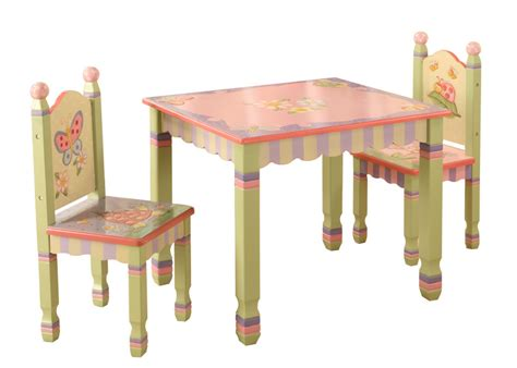 Childrens Table And Chairs Set by Childrens Magic Garden Table And 2 Chair Set Baby N Toddler
