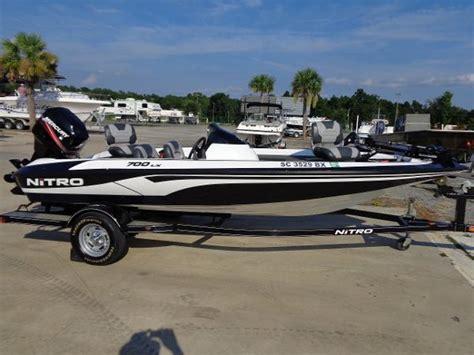 nitro bass boat weight nitro 700lx boats for sale