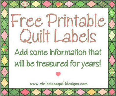 quilt label templates quotes