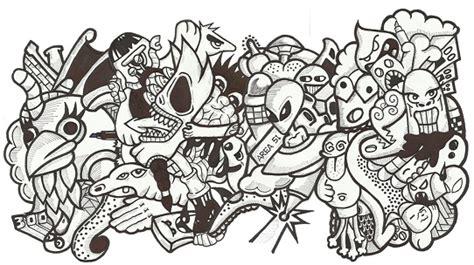 doodle lucu contoh gambar yg mudah di gambar fontoh