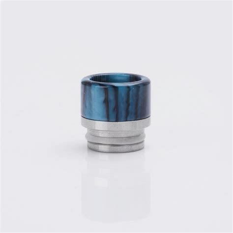 Tfv8 Kennedy Resin Drip Tip 15mm resin ss black blue drip tip for smok tfv8 kennedy rda