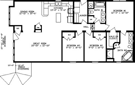 Locust Floor Plan 1500 Sq Ft House Plans Pinterest Open Floor House Plans 1500 Sq Ft