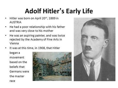 adolf hitler biography childhood life facts mussolini biography pkhowto