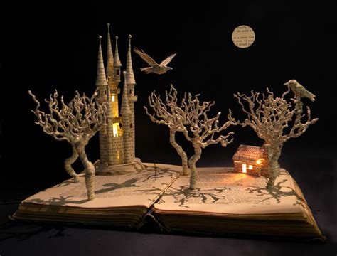 Cool Artist Su Blackwell by Wordless Wednesday Su Blackwell S Book Installations