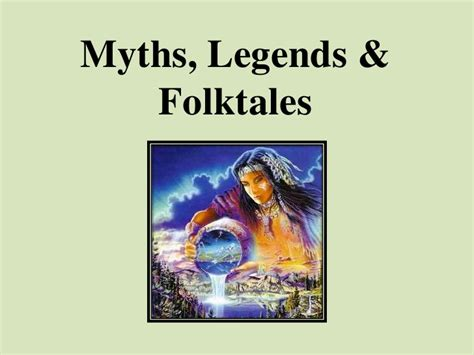 myths legends an introduction