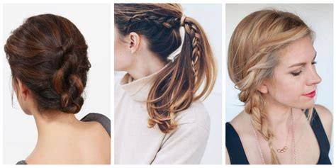 Easy Summer Hairstyles by The 10 Easiest Summer Hair Ideas On Easy