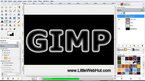 text tutorial in gimp gimp 2 8 tutorial ice text doovi