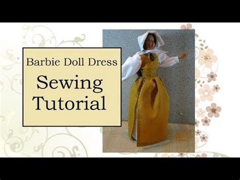 youtube tutorial sewing sewing tutorial for barbie doll pinafore youtube