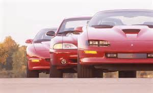 Pontiac Vs Chevrolet 1996 Ford Mustang Cobra Vs Chevrolet Camaro Z28 Ss
