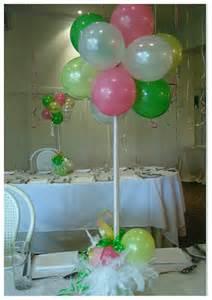 balloons centerpieces ideas balloon center pieces baby shower ideas