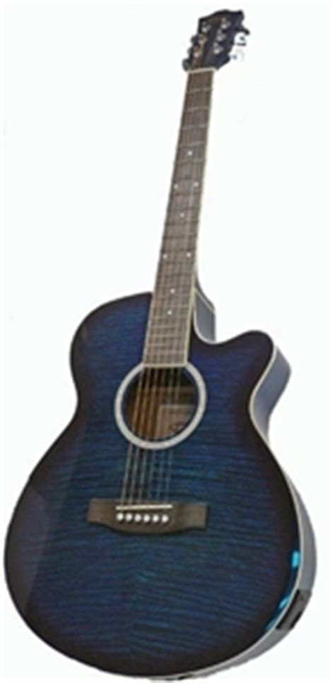 Bor Tuner Freedom buy freedom slim line semi acoustic guitar with 4 band graphic eq blue graysonline australia