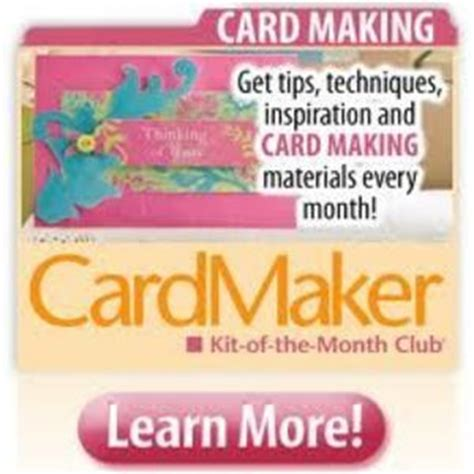 card kits of the month cardmaker kit of the month club reviews viewpoints