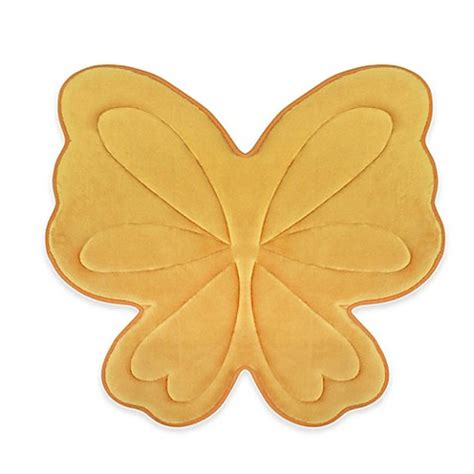 Butterfly Bathroom Rug Butterfly Memory Foam 30 Inch X 30 Inch Bath Rug Bed Bath Beyond