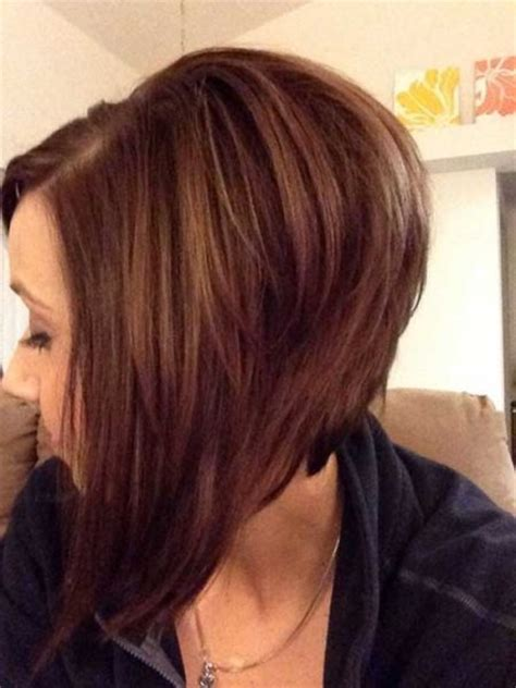 angled haircuts front and back the elegant as well as attractive long angled bob back