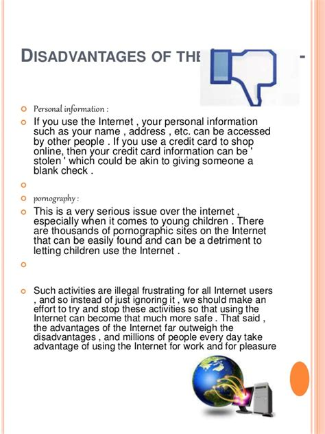 format cv anglisht essay on the advantage and disadvantage of internet