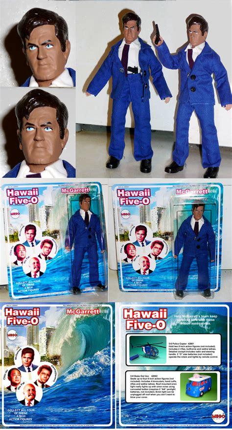 hawaii five o figure book em danno aloha