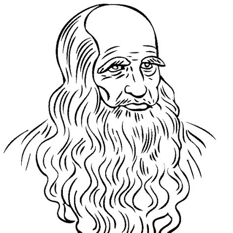 Leonardo Da Vinci Coloring Pages Da Vinci Printable Coloring