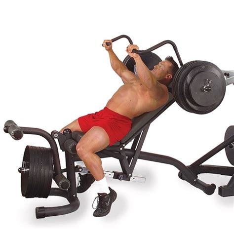 leverage bench bodysolid olympic leverage flat bench