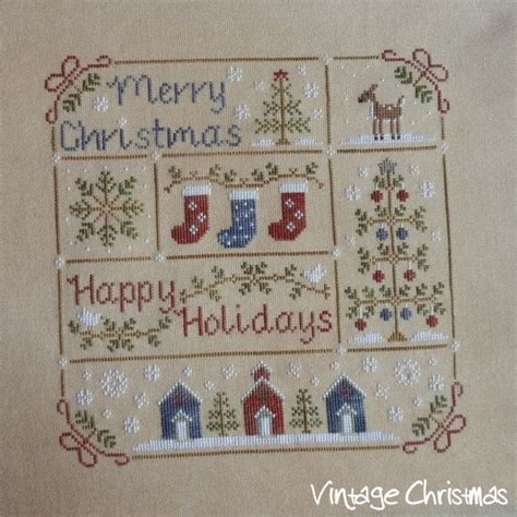 winter welcome country cottage needleworks i cross stitch pinterest cottages country fallen in love with lhn and ccn patterns vintage christmas