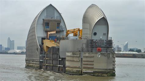thames barrier london flooding thames flood barrier london youtube