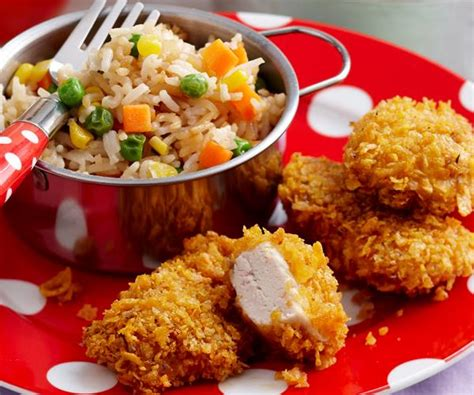Chicken Nugget 500g chicken nuggets with fried rice recipe food to