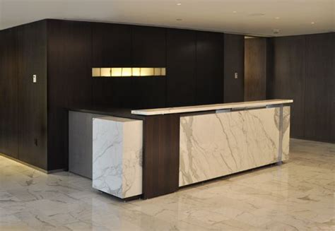 Marble Reception Desk Arnold Reception Desks Inc Custom Anglo Bank New York Reception Desks