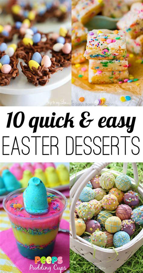 Easy Easter Desserts | 10 easy easter desserts