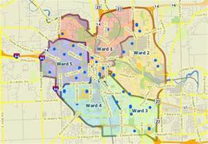 precinct and polling place maps