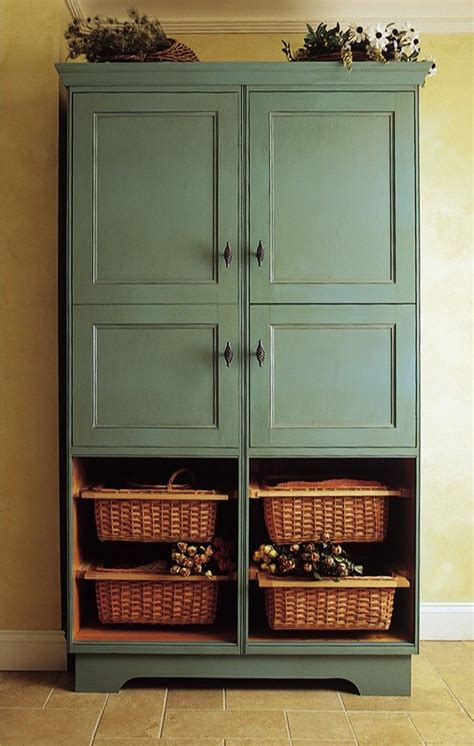 Kitchen Freestanding Pantry by Best 25 Free Standing Pantry Ideas On