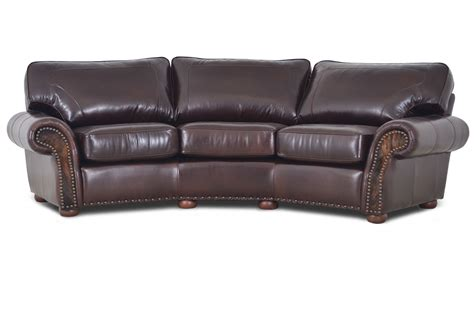 leather theater sofa ariano sofa the leather sofa company