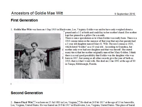 writing a family history biographical essay part 1 history echoes