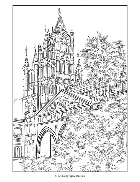 travels through and italy large print books italian coloring page coloring home