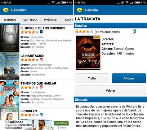comprar entradas cine cinesa las mejores aplicaciones para saber todo sobre cine y