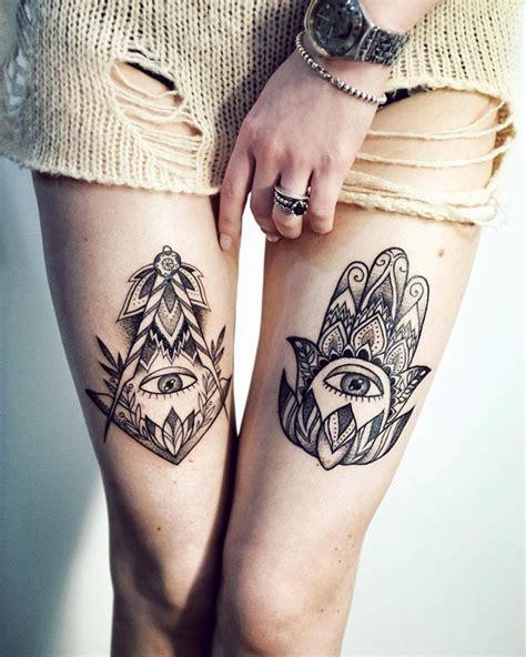 imagenes de tatuajes de mano de hamsa o fatima tatuajes