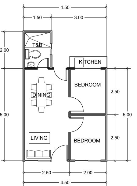 philippine house floor plans row house floor plans philippines home design and style
