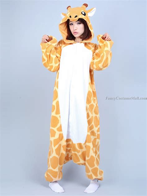 Animal Onesie Pajama giraffe onesie kigurumi pajama fancy costume mall