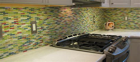 multi color backsplash tile 2016 tile trend color glass tile susan jablon
