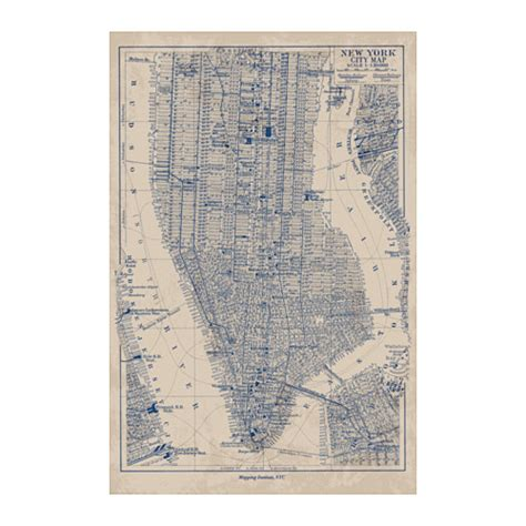 BILD Poster Manhattan map 61x91 cm   IKEA