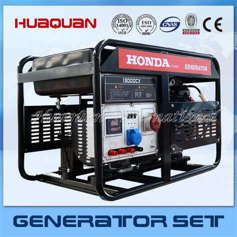 world brand home use honda gasoine generator 10kw