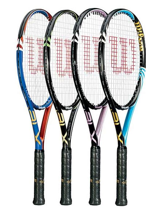 Raket Wilson Wave Blx wilson seeks the feel with new blx racquet technology tennis industry
